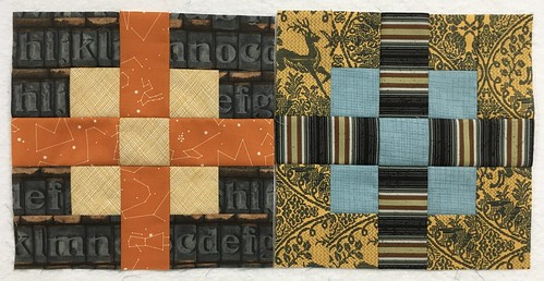 October blocks for do.good.stitches, Bliss circle.