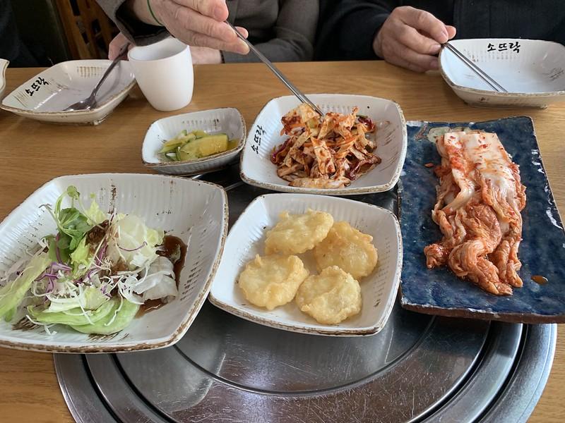 朝鮮料理 牛骨湯