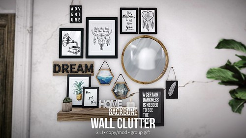 BackBone Wall Clutter - Group Gift