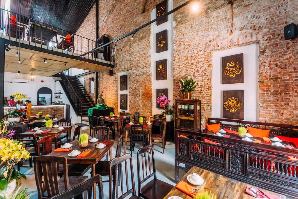 Shamballa Vegetarian Restaurant & Tea House Saigon 7