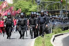marcha en oficina del FMI / 4