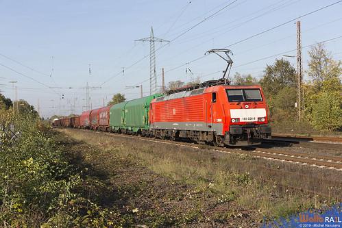 189 026 . DB Cargo . 51542 . Lintorf . 31.10.19.