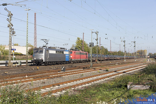 151 062 + 151 169 . DB Cargo . 60715 . Düsseldorf Rath . 31.10.19.