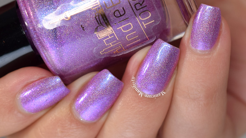 Girly Bits Cosmetics Orchid-ing Me Right? swatch