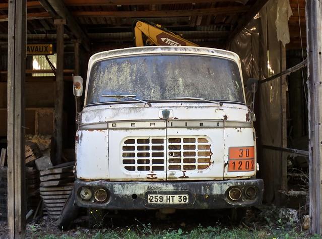 1959 BERLIET GAK Crane Truck