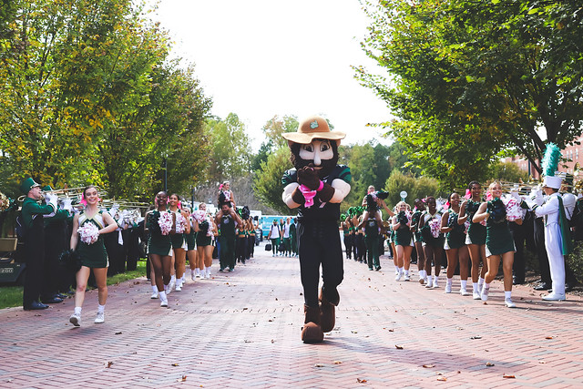 10/26/2019 UNC Charlotte vs. North Texas (PNNMB Alumni Band Day)