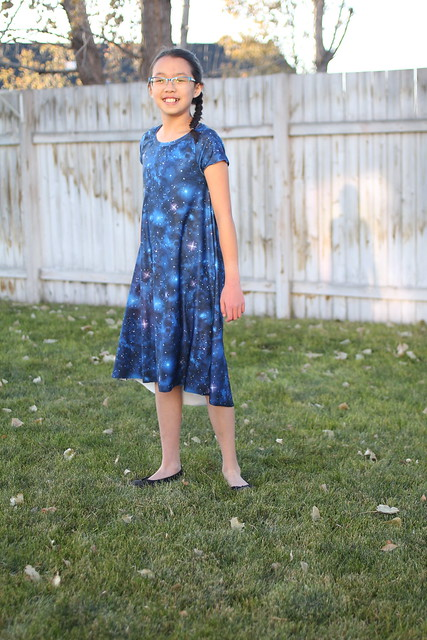 hey june woodstock swing tee dress