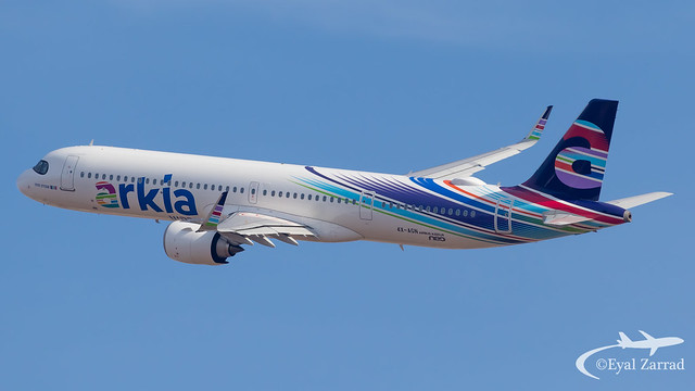 TLV - Arkia Airbus A321LR 4X-AGN