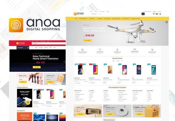 Leo Anoa - Best Supermarket PrestaShop theme 2019