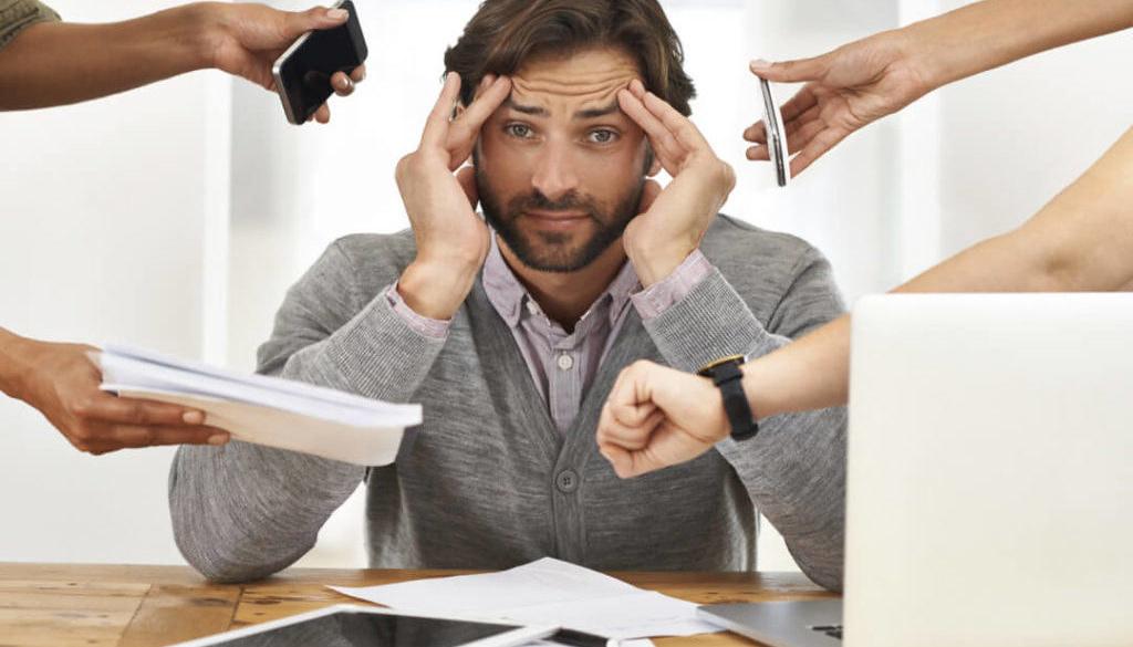 stress by work