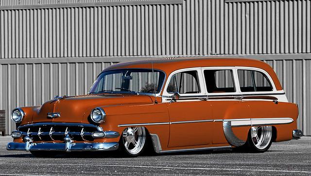 54'Chevrolet Bel Air Wagon