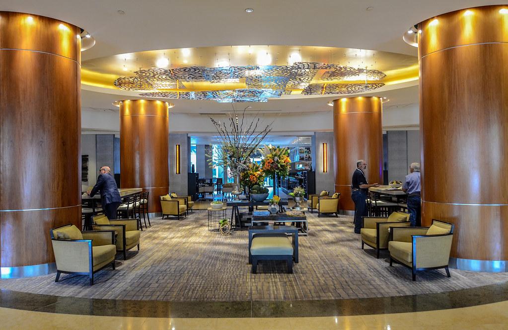 Anaheim Marriott lobby