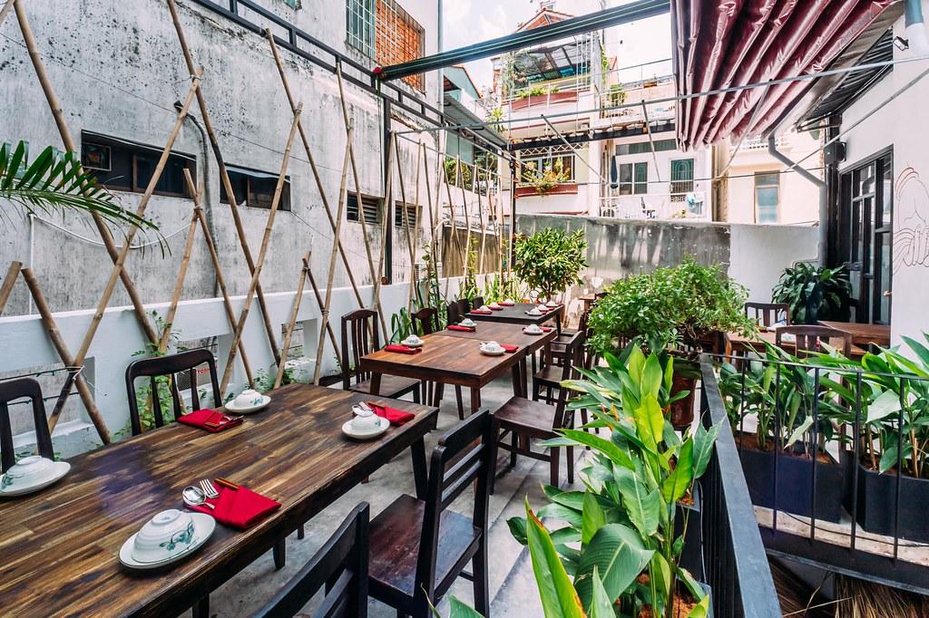 Shamballa Vegetarian Restaurant & Tea House Saigon 1