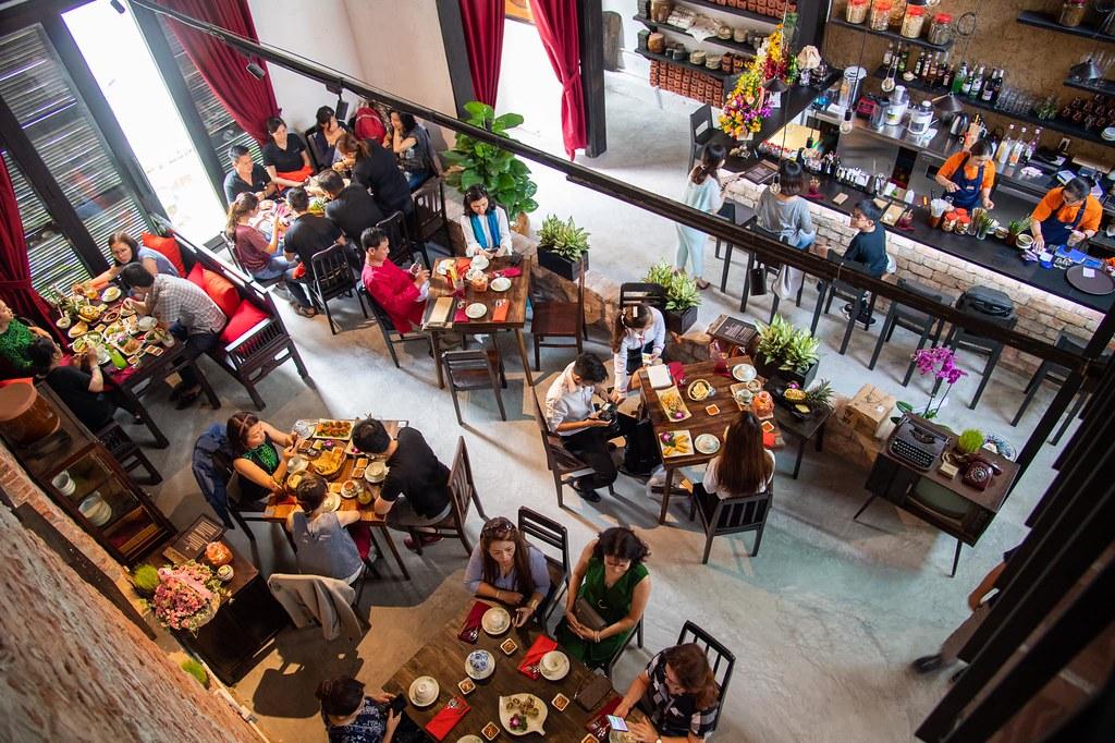 Shamballa Vegetarian Restaurant & Tea House Saigon 8