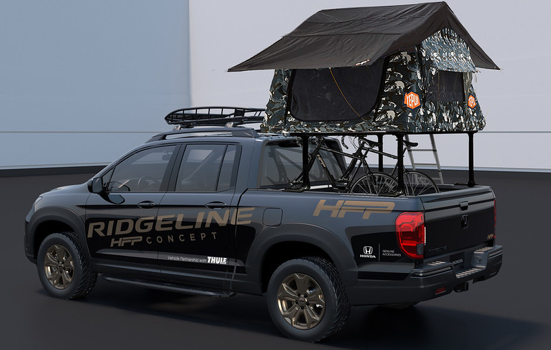 10 - Honda Ridgeline HFP Concept for 2019 SEMA Show-1200x740