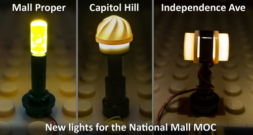 New lights for the National Mall MOC