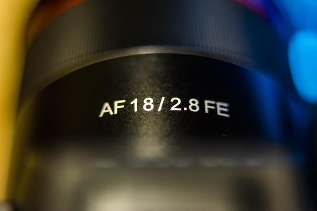 Rokinon/Samyang 18mm f/2.8 FE