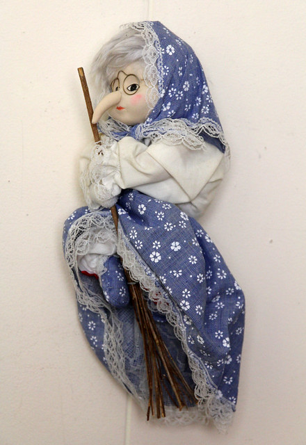 Witch Doll on Broom