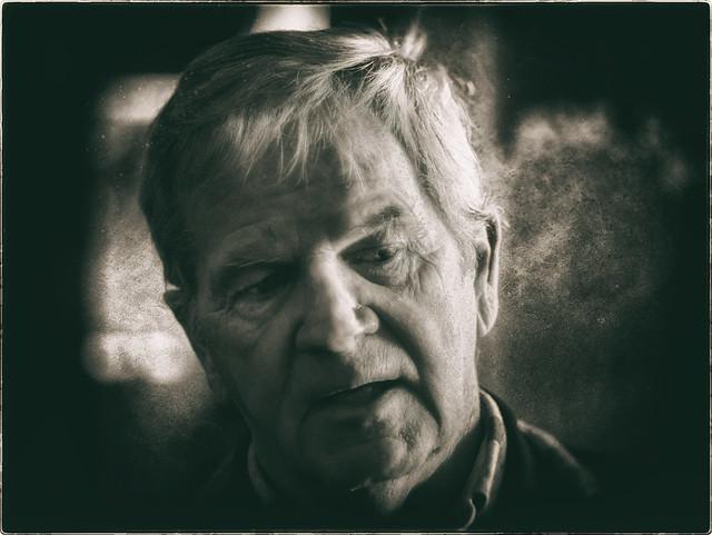 Casual Portrait in Monochrome