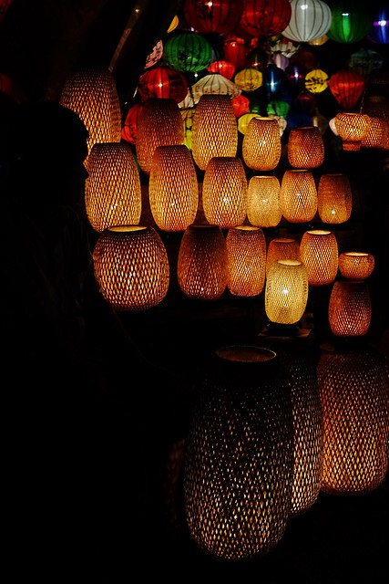 Lanterns in Hoi An's Ancient Town, UNESCO World Heritage Site