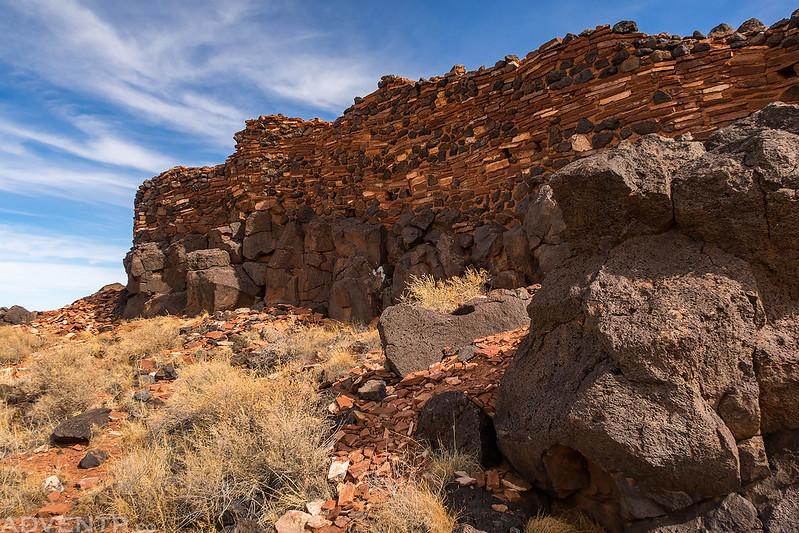 Citadel Pueblo Wall