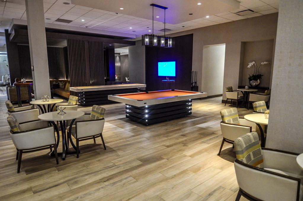 Anaheim Marriott pool table
