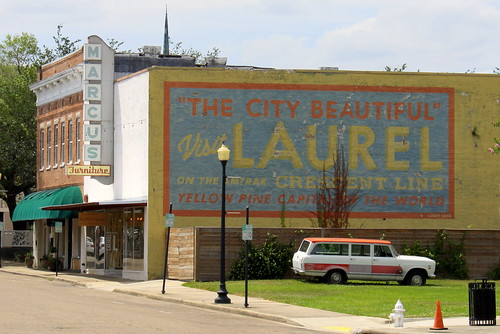 Visit Laurel, MS Mural