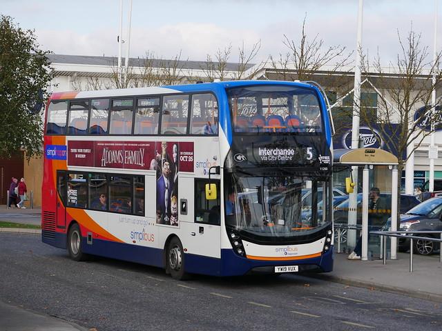 Stagecoach in Hull 11200 - YW19 VUX