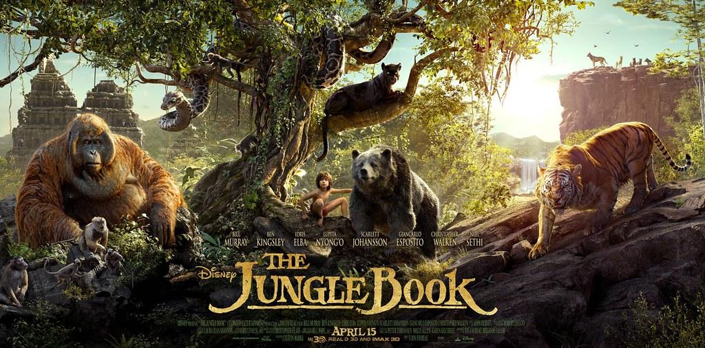 《與森林共舞 The Jungle Book》。圖片來源:IMDb