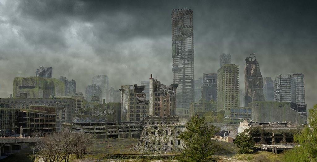 《人類消失後的世界 Life After People》。圖片來源:IMDb