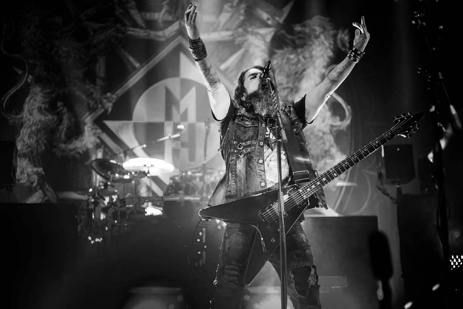 Machine Head @ Vorst National (Cathy Verhulst)