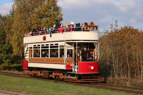 Trams: Blackpool Transport: 31 Beamish Open Air Museum