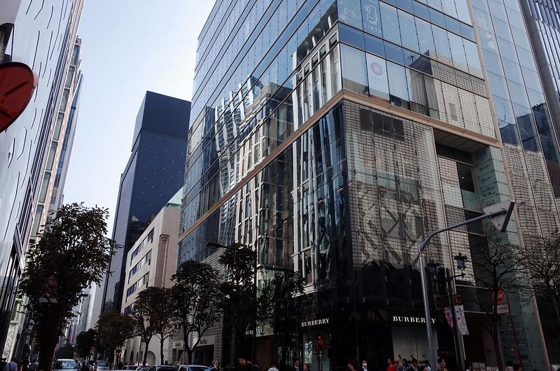 36偽東京いい道しぶい道 並木通りマロニエ通りミキモト前
