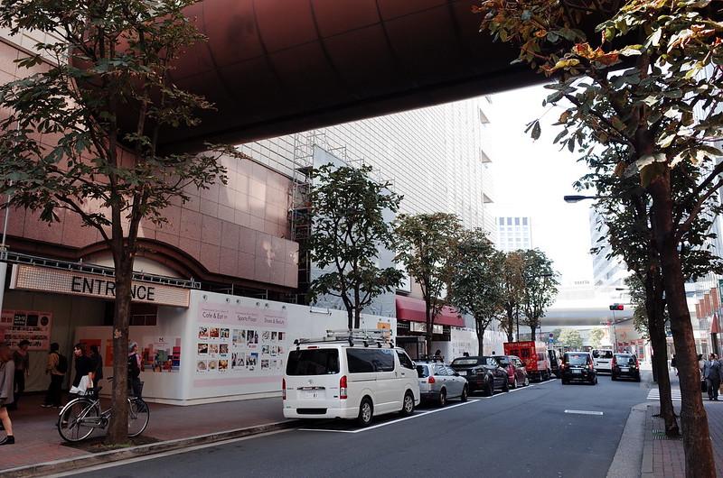 35偽東京いい道しぶい道 並木通りマロニエ通りマロニエゲート銀座2