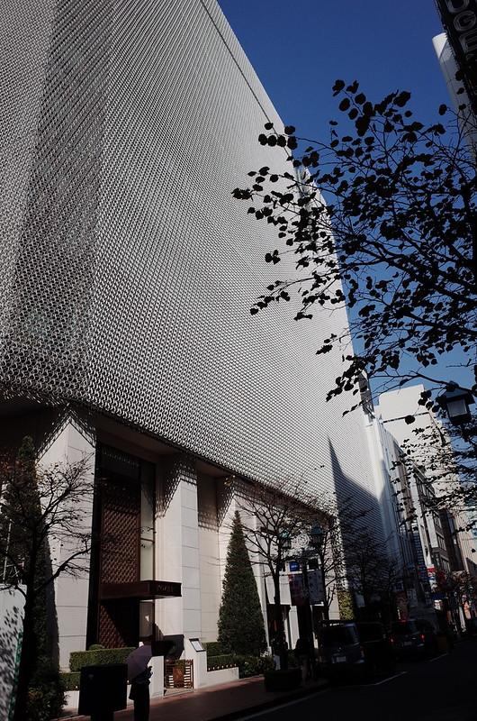 14偽東京いい道しぶい道 並木通り資生堂本社ビル