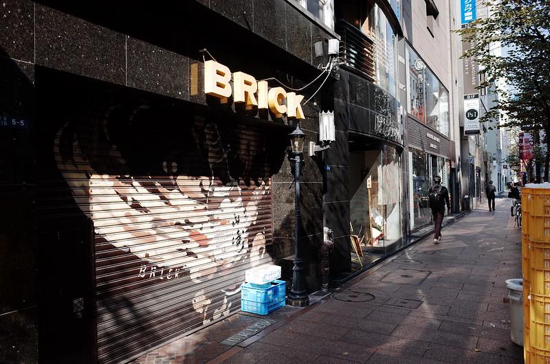 10偽東京いい道しぶい道 並木通りBRICK