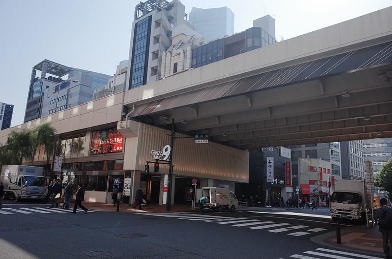 03偽東京いい道しぶい道 並木通り入口前GINZA9