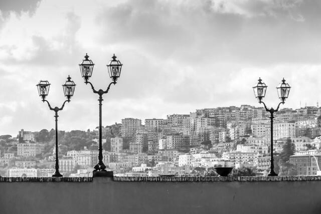 Italy - Napoli from Castel dell'Ovo