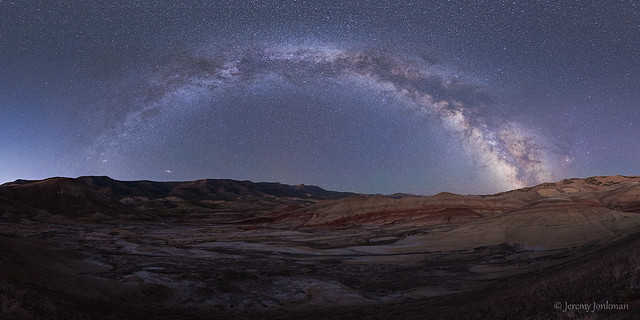 Galactic Painted Hills