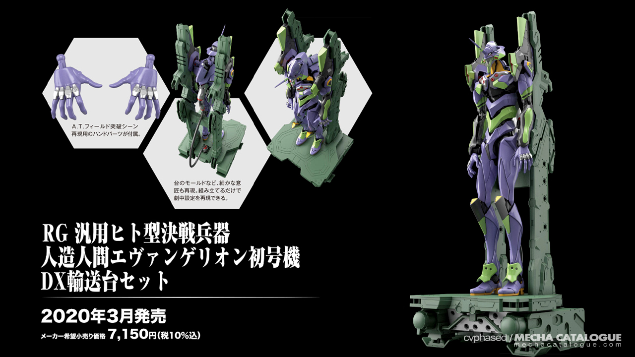 Literally Out of Nowhere! Real Grade Evangelion Unit-01