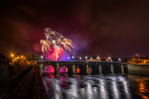 water autumn northern ireland bridge main night halloween firework fireworks melvin wall street ni uk scenic landscape riverscape sperrins county tyrone gareth wray photography strabane nikon d810 nikkor wide lens sky tourist tourism mourne river site visit country side reflection reflections british irish colourful derry council bank nature flowing photographer town lifford border day vacation holiday europe show footbridge pedestrian walk 14mm 2019 foot display