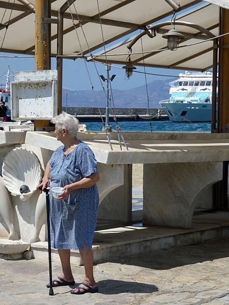 la criée de Mykonos