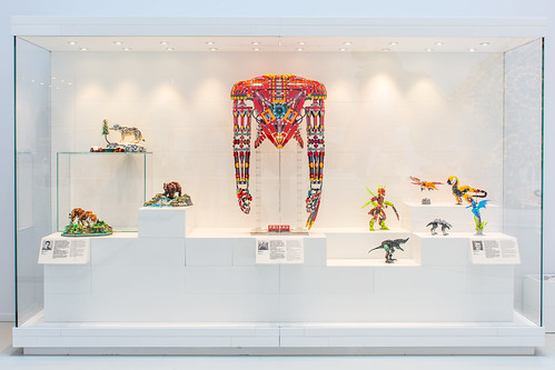 LEGO House masterpiece gallery display