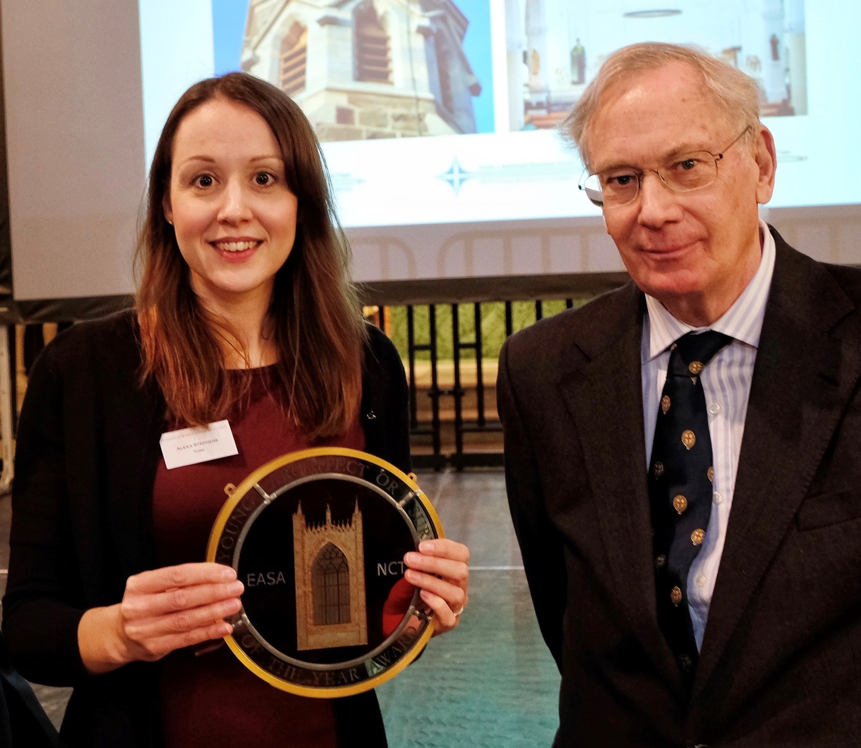 Alexa Stephens 2019 Young Church Architect or Surveyor of the Year