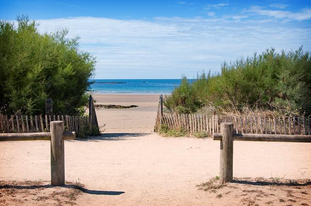 Allons à la plage du Fort-Bloqué...