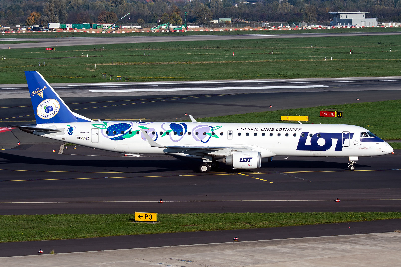 SP-LNC | Embraer ERJ-195LR | LOT - Polish Airlines