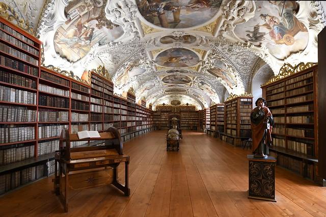 Prag, Kloster Strahov (Strahovský klášter), Philosophischer Saal der Bibliothek (1790)