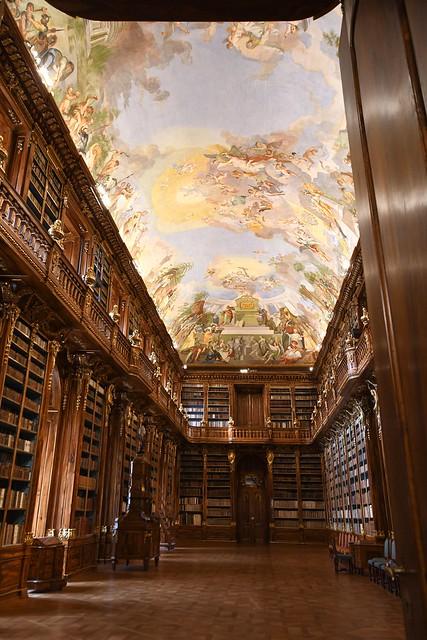 Prag, Kloster Strahov (Strahovský klášter), Theologischer Saal der Bibliothek (1675)