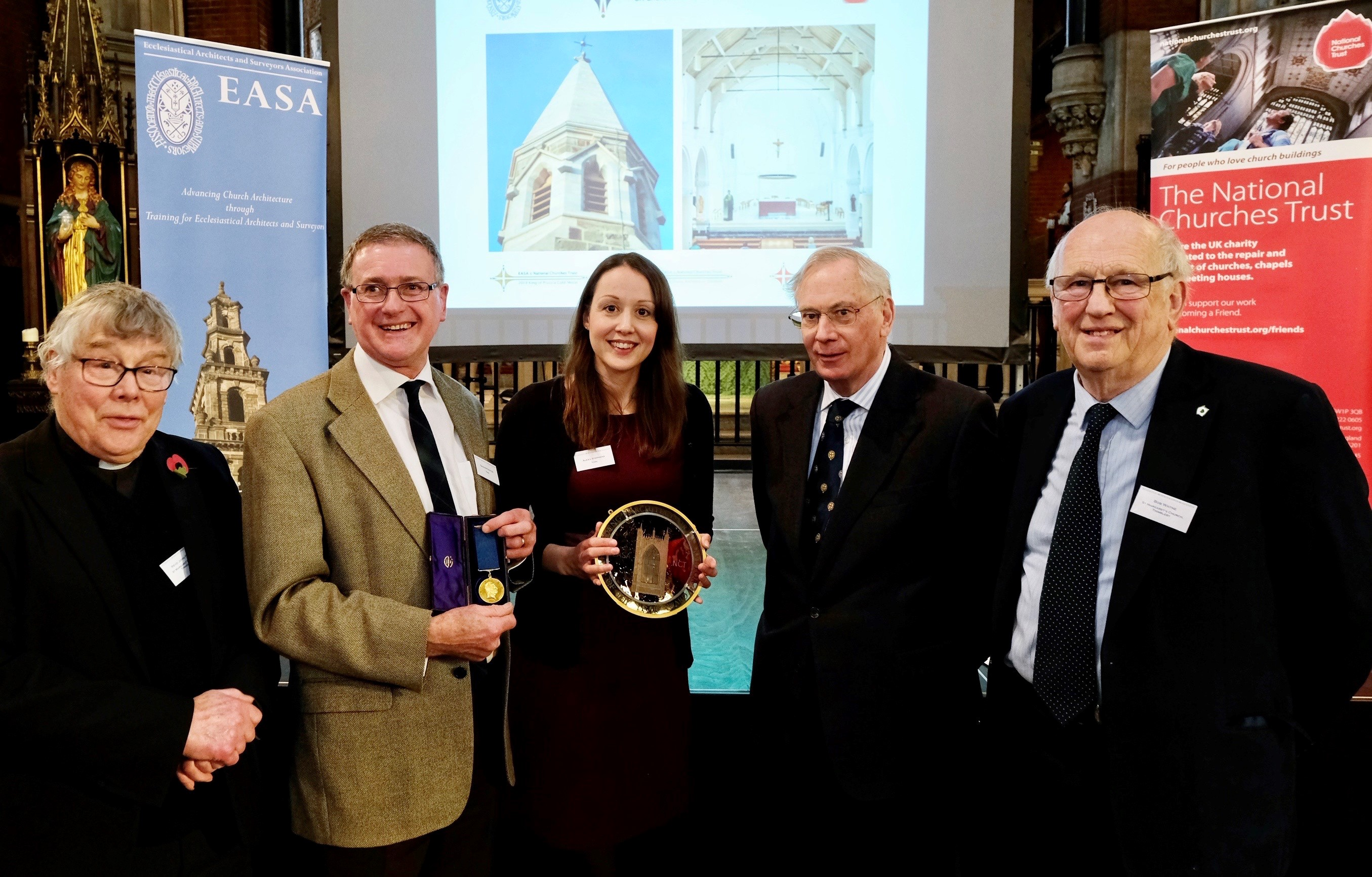 2019 King of Prussia Gold Medal Winners with HRH The Duke of Gloucester