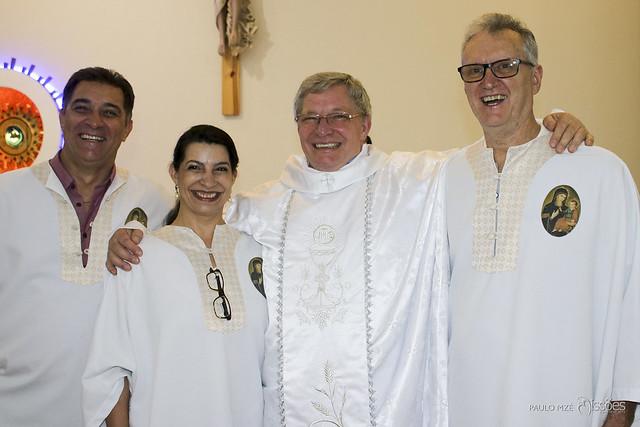 Jubileu de prata sacerdotal do padre Luiz Andriolo
